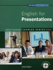 Express Series: English for Presentations : A Short, Specialist English Course, Mixed media product