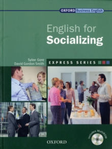 Express Series: English for Socializing : A Short, Specialist English Course, Mixed media product Book