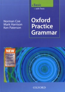Oxford Practice Grammar Basic: with Key Practice-Boost CD-ROM Pack, Mixed media product