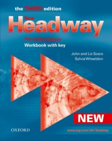 New Headway : Workbook with Key Pre-intermediate, Paperback
