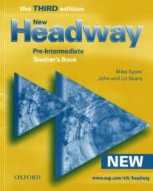 New Headway: Pre-Intermediate: Teacher's Book : Six-Level General English Course for Adults, Paperback Book