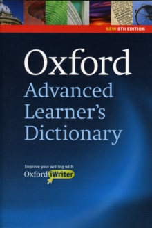 Oxford Advanced Learner's Dictionary: (Includes Oxford iWriter), Mixed media product