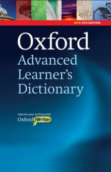 Oxford Advanced Learner's Dictionary: (Includes Oxford iWriter), Mixed media product Book