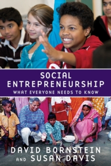 Social Entrepreneurship : What Everyone Needs to Know, Paperback