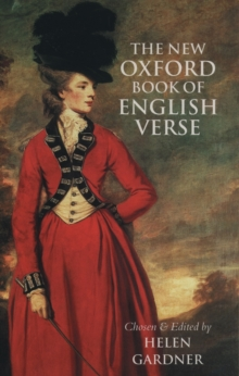 The New Oxford Book of English Verse, 1250-1950, Hardback