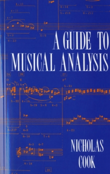 A Guide to Musical Analysis, Paperback