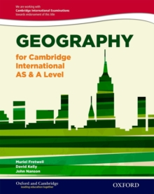 Geography for Cambridge International AS & A Level, Mixed media product Book