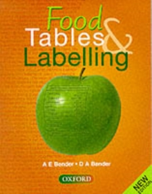 Food Tables and Labelling, Paperback