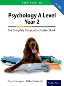 The Complete Companion for AQA Psychology A Level: Year 2 Student Book : A level and Year 2, Paperback Book