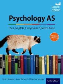 The Complete Companions for WJEC: Year 1 and AS Psychology Student Book, Paperback Book