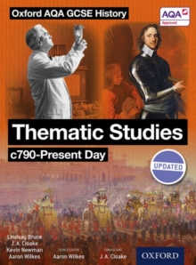 Oxford AQA History for GCSE: Thematic Studies C790-Present Day : (Britain: Health, Power, and Empire and Migration), Paperback