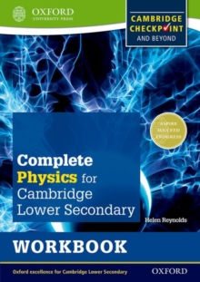 Complete Physics for Cambridge Secondary 1 Workbook : For Cambridge Checkpoint and Beyond, Paperback