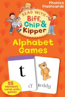 Oxford Reading Tree Read with Biff, Chip, and Kipper Flashcards: Alphabet Games, Cards