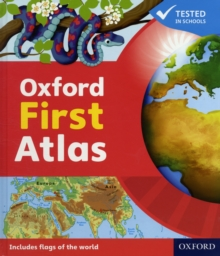 Oxford First Atlas, Hardback Book