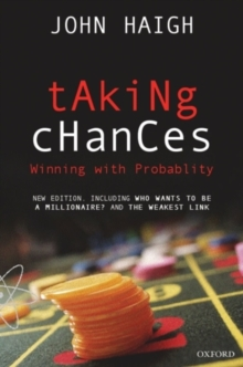 Taking Chances : Winning with Probability, Paperback