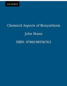 Chemical Aspects of Biosynthesis, Paperback