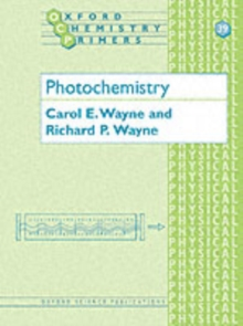 Photochemistry, Paperback Book