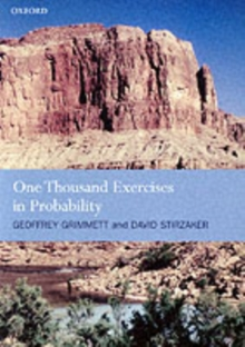 One Thousand Exercises in Probability, Paperback