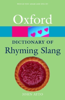 The Oxford Dictionary of Rhyming Slang, Paperback