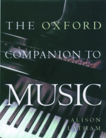The Oxford Companion to Music, Hardback