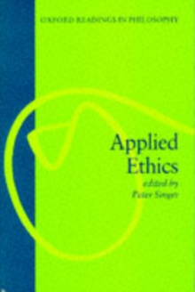 Applied Ethics, Paperback