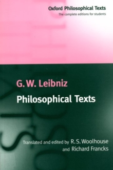 Philosophical Texts, Paperback