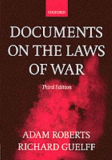 Documents on the Laws of War, Paperback