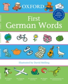 Oxford First German Words, Paperback