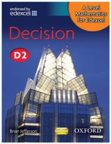 A Level Mathematics for Edexcel: Decision D2, Paperback Book