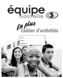 Equipe Nouvelle: Part 3: En Plus Workbook, Paperback