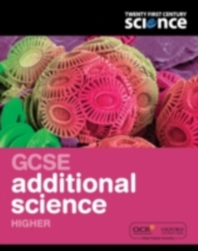 Twenty First Century Science: GCSE Additional Science Higher Student Book, Paperback