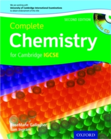 Complete Chemistry for Cambridge IGCSE with CD-ROM, Paperback Book