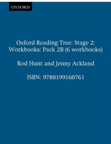 Oxford Reading Tree: Level 2: Workbooks: Pack 2b (6 Workbooks), Paperback Book