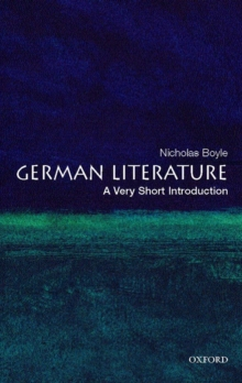 German Literature: A Very Short Introduction, Paperback