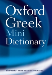 Oxford Greek Mini Dictionary, Paperback Book