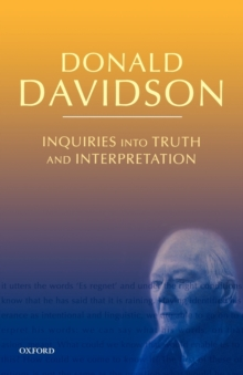 davidson essays on actions and events