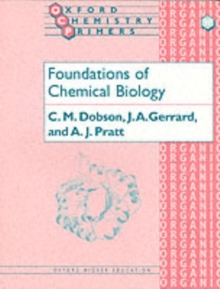 Foundations of Chemical Biology, Paperback Book