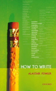 How to Write, Paperback