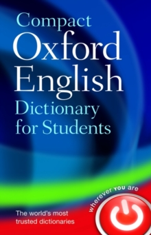 Compact Oxford English Dictionary for University and College Students, Paperback