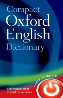 Compact Oxford English Dictionary of Current English, Hardback Book