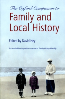 The Oxford Companion to Family and Local History, Paperback Book