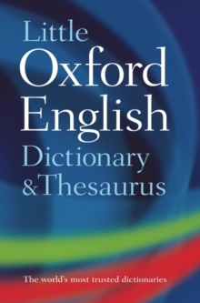 Little Oxford Dictionary and Thesaurus, Hardback