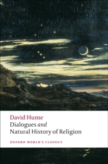 Dialogues Concerning Natural Religion, and the Natural History of Religion, Paperback