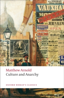 Culture and Anarchy, Paperback