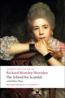 The School for Scandal and Other Plays, Paperback