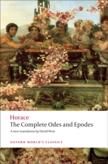 "The Complete ""Odes"" and ""Epodes"", Paperback Book"