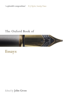 The Oxford Book of Essays, Paperback