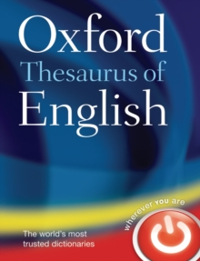 Oxford Thesaurus of English, Hardback