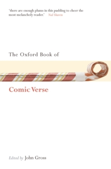 The Oxford Book of Comic Verse, Paperback