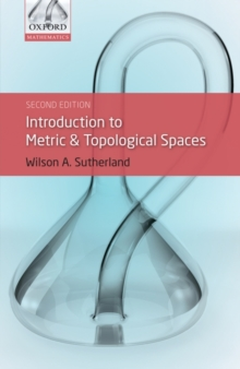 Introduction to Metric and Topological Spaces, Paperback Book